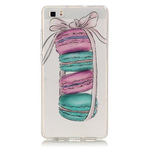 "FQY-TEC Huawei P8lite Coque/ALE-L21 Coque, [Très Transparent][Silicone][Soft TPU] Coque pour Huawei P8lite (5.0"") 16"
