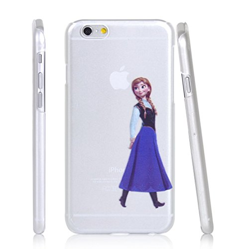 Phone Kandy® Garde de la peau et l'écran clair transparent Hard Shell Case pour iPod & iPhone Cartoon Coquille Anna - Frozen
