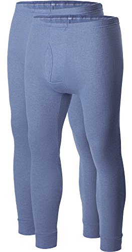Ladeheid Herren lange Unterhose Jeans (2-Pack)