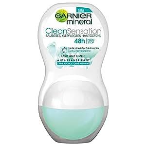 Garnier Minéral Déodorant Roll-on Clean Sensation 50 ml