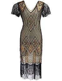 48103d15f8ce Amazon.it  Oro - Vestiti   Donna  Abbigliamento