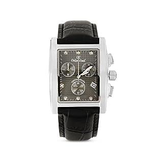 Oskar Emil Reloj cronógrafo para Hombre de Cuarzo con Correa en Piel Rodez Black/Grey