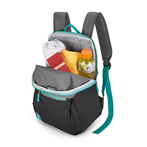 Footloose by Skybags 10 Ltrs Grey Casual Backpack (Blu) Image 3