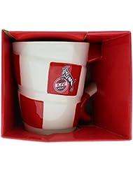 1. FC Köln / Cologne Mug with Scarf Design