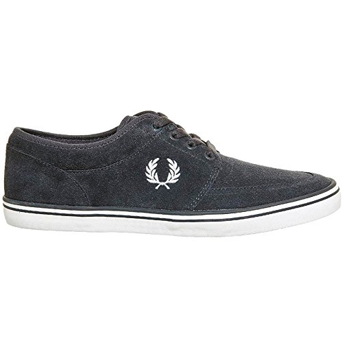 Fred Perry Stratford B1168 282 Gris. Zapatos De Cordones Oxford Para Hombre (40 EU, Gris) (Cordones Para Zapatos)