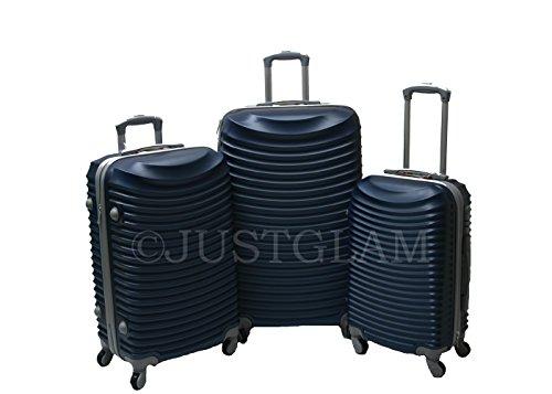 Juegos de3 maletas set2030 rígidas brillantes ruedas de policarbonato ABS pequeño equipaje de cabina compañías lowcost compatibles cierran con candado