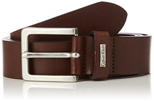 Calvin Klein Mino Belt 3, Cinturón para Hombre, marrón, 110 cm