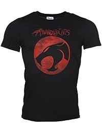 Mens Black ThunderCats Logo T Shirt