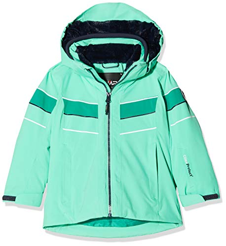 CMP Mädchen Wattierte 10000 Skijacke Jacke, Ice Mint, 116