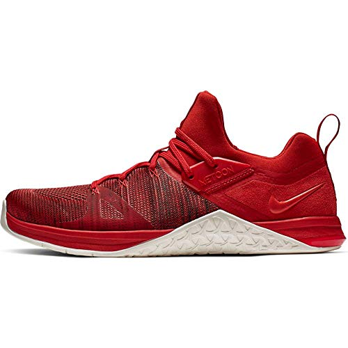 Nike Herren Metcon Flyknit 3 Fitnessschuhe, Mehrfarbig (Mystic Sail/Red Orbit 000), 44 EU
