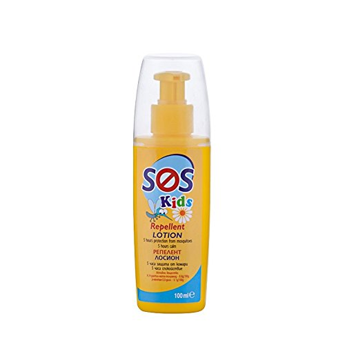 SOS Moskito Repellent Lotion für Kinder in Spray 100 ml