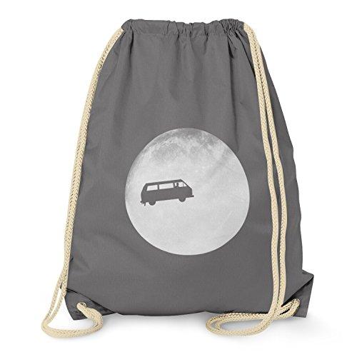 TEXLAB - Full Moon Bulli T3 - Turnbeutel, grau