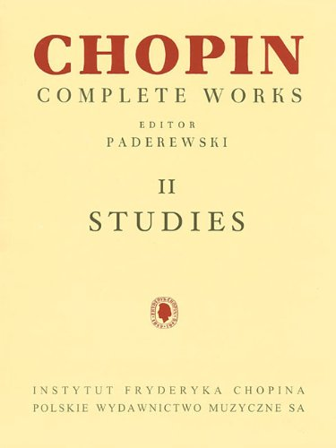 Studies: Chopin Complete Works Vol. II