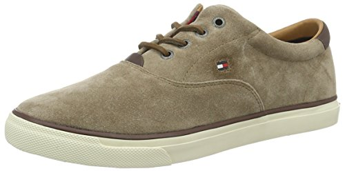 Tommy Hilfiger Herren W2285ILKES 2B Sneakers, Braun (Shitake 012), 45 EU