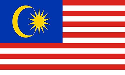 Haute qualité 5 ft X 3 ft 5 'X3'malaisiennes drapeau de la Malaisie