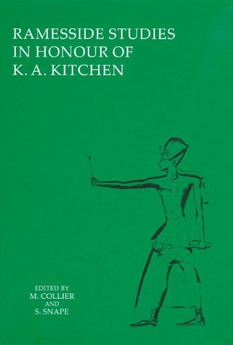 Ramesside Studies in Honour of K. A. Kitchen by Mark Collier (2011-12-31)