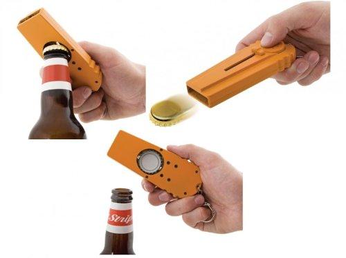 Cap Zappa - Flaschenöffner und Kronkorken Schleuder