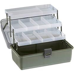 Cormoran Bags and Boxes 11004 - Maletín para utensilios de pesca (36 x 20 x 20cm), color verde