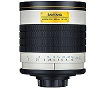 Samyang SAM500F63 Objectif 500 mm mirror F6,3 monture T2 Blanc