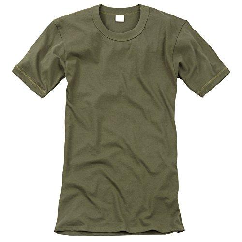 Black Snake Original Unterhemd T-Shirt der Deutschen Bundeswehr Unterziehhemd in verschiedenen Größen Oliv 6 / L