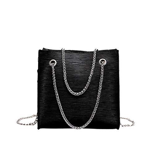 Barlingrock Frauen-Frauen-wilder Normallack-Ketten-Kurierbeutel-einfaches Temperament-Umhängetasche, die reizende quilting Crossbody-Tasche, Schulter-Handtasche der Tote