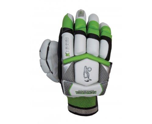 KOOKABURRA Cricket-Handschuhe für Schlagmann/Batsman K-1000 (One Size) Neutral/Schwarz/Grün Herren One Size
