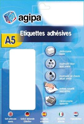 AGIPA Étiquettes de couleur, diamètre: 15 mm, rond, orange