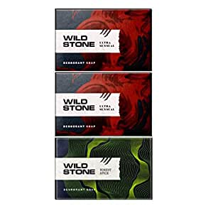 Wild Stone 2 Ultra Sensual Soap 125GM and Forest Spice Soap 125GM