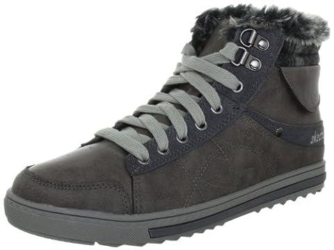 Skechers Kicks Coolest, Women's Casual Shoes, Gray (Gry), 3 UK