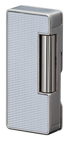 Sarome psd37-03Flint Feuerzeug, W//silber Lattice alumite