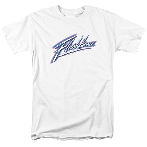 Flashdance Men's Logo T-shirt White