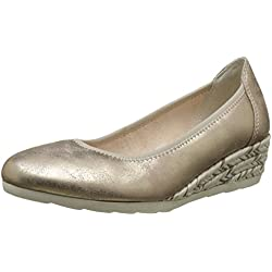 Softline Damen 22363 Wedges, Gold (Platinum 957), 41 EU