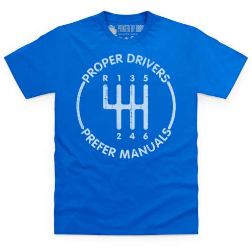 evo Proper Drivers T-shirt, Uomo Blu royal