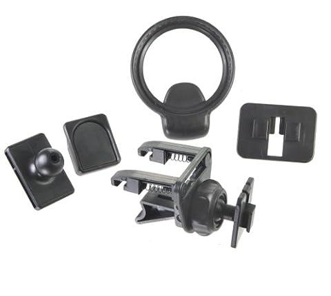 Bracketron/Southmid Support pour prise d'air avec adaptateurs GPS pour Garmin