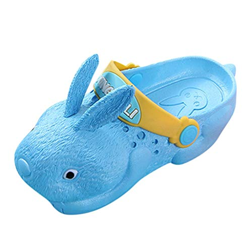 koperras Kaninchen Kinder Drinnen Und DraußEn Sandalen Hausschuhe Jungen Und MäDchen Strand rutschfeste Weichen Boden Kaninchen Loch Schuhe Niedlichen Einfarbigen Rutschfesten Wasserdicht