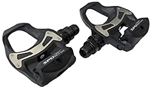 Shimano PD-R550 Speed SL Road Resin Composite Pedals - Black