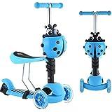 Scooter Kids (3 in 1) Luminous wheels