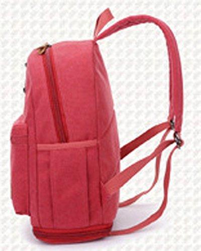 Keshi Leinwand Cool Damen accessories hohe Qualität Einfache Tasche Schultertasche Freizeitrucksack Tasche Rucksäcke Café