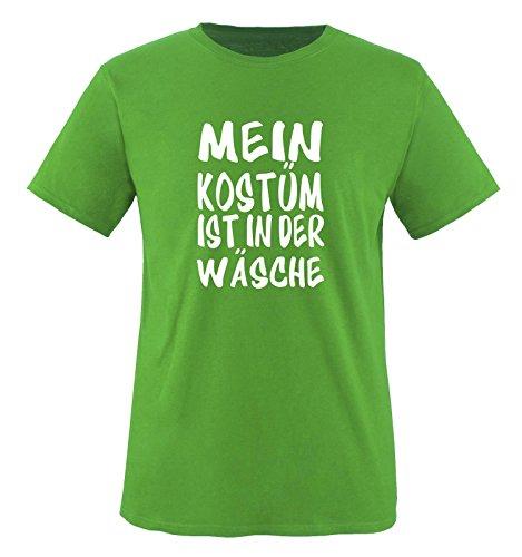 K Motto Kostüme (MEIN KOSTÜM IST IN DER WÄSCHE - Kinder T-Shirt Grün)