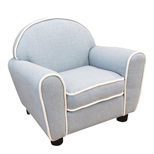 JIE KE Kinder Komfortable Sitz Einzelsofa Stuhl Grün Material Simple Modern Seat Kinderzimmer...