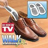Walkfit Platinum Orthotics- Size D (W 8- 8.5/M 7-7.5) by WalkFit