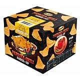Paprika- Chili Nachos und Käse-Dip