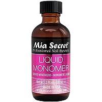 Mia Secret, Líquido y polvos acrílicos para manicura y pedicura - 60 ml.