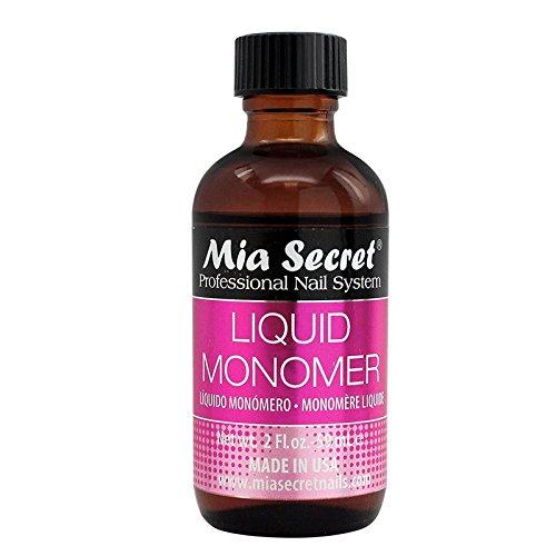 Mia Secret, Líquido polvos acrílicos manicura pedicura