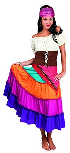 Halloween Zigeunerin Kostüm - Boland Erwachsenenkostüm Zigeunerin