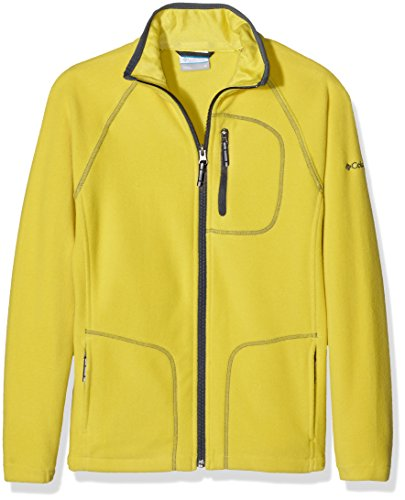 Columbia Kinder Fast Trek Ii Full Zip Fleece, Gelb (Mineral Yellow/Graphite), S (Fleece-jacke, Gelb Columbia)