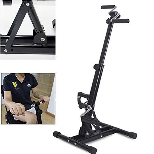 Mini Heimtrainer Portable Home Pedal Exerciser Gym Fitness Bein Arm Cardio Training für schwangere Frauen, ältere Menschen, Behinderte, Männer - Indoor-fahrrad-trainer