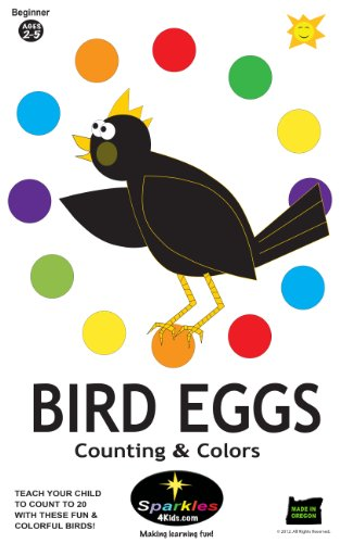 Bird Eggs - Counting & Colors: Count To 20 With Fun & Colorful ...