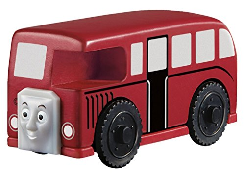 Fisher Price BBT41 - Trenino Thomas Linea Legno Bertie, Multicolore