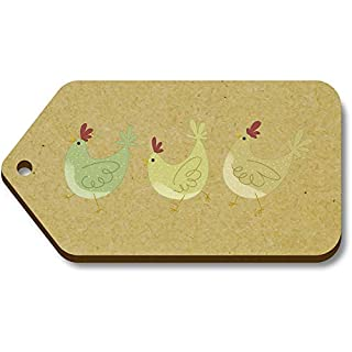 Azeeda 10 x 'Chickens' 66mm x 34mm Gift Tags (TG00084995)